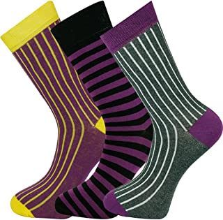 Mysocks, Calcetines de diseño de tobillo unisex 3 pares 06