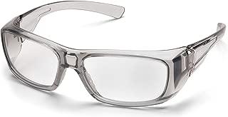 PYRAMEX SG7910D15 Pyramex Clear Safety Reader Glasses, Scratch-Resistant