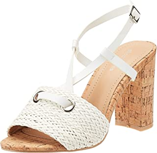 Shoexpress Braided Block heels For Women
