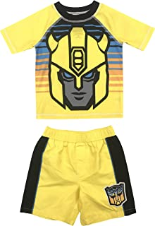 Dreamwave Boys Costume Rash Guard and Swim Trunk Set