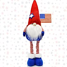 Patriotic Gnome Tomte for 4th of July American Independence Day Gift, President Election Veterans Day Handmade Decoration ...