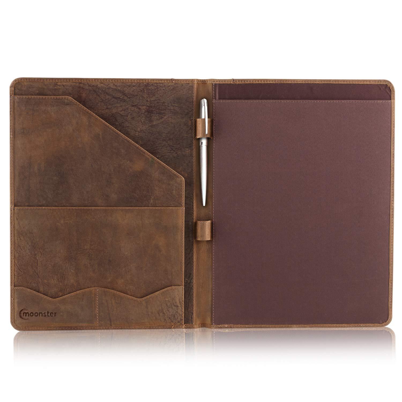 Leather Portfolio Professional Organizer Padfolio