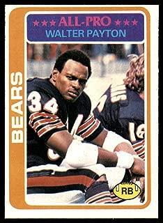 Football NFL 1978 Topps #200 Walter Payton UER NM Bears