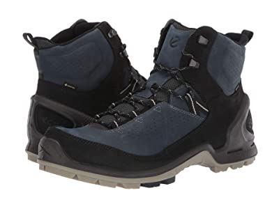 ECCO Sport Biom Terrain GORE-TEX(r) Boot (Black/True Navy) Men