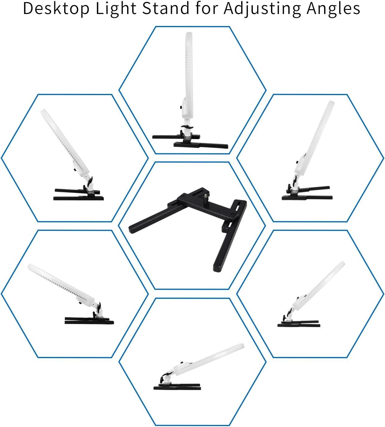NanGuang Venus V48C 18 Dimmable Adjustable Bicolor LED Ring Light Desktop Kit