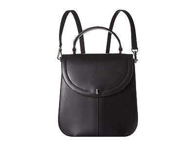 Kate Spade New York Andi Medium Convertible Backpack (Black) Backpack Bags