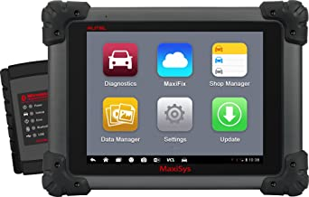 Autel Maxisys 908 Bi-Directional Diagnostic Tool Automotive Scanner Android Analysis System with Advanced Coding &1 Year Free Update