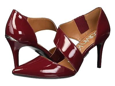 Calvin Klein Gella Pump (Red Rock Patent) High Heels