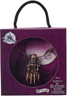 Dr. Finkelstein Necklace for Women - The Nightmare Before Christmas Metallic