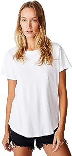 Cotton On Women's Short Sleeve One Crew T-shirt, Large, White