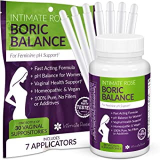 intimate rose boric balance
