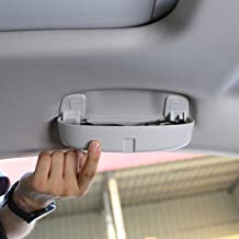 LFOTPP Coche Estuche de gafas Soporte de gafas de sol Auto Interior accesorios para Golf 7 Tiguan Passat B8 Atlas L (gris)