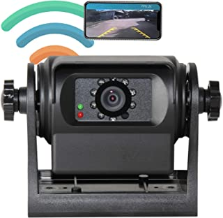 $139 » RED WOLF Phone Wireless WiFi Trailer Hitch RV Backup Camera Compatible with iPhone Android iPad Gooseneck Horse Campers Mo...