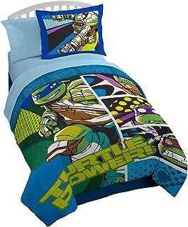 Nick 6-pc Full Size Teenage Mutant Ninja Turtles Comforter & Sheet Set (Set Includes: Full Comforter, Sham & 4-pc Full Size Sheet Set)