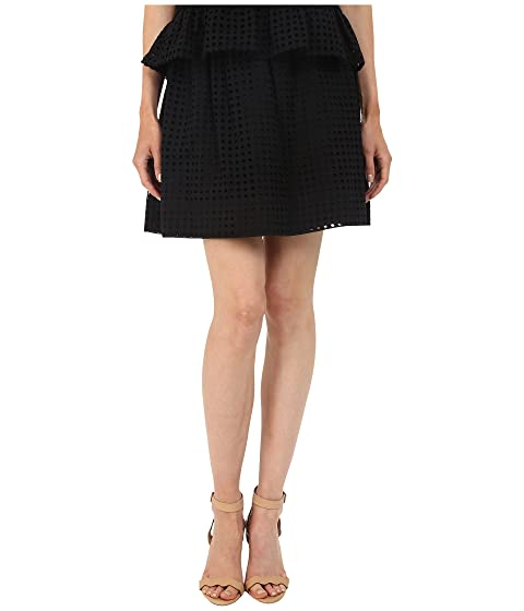 Kate Dot York Blaire Eyelet Skirt Spade Mini New pq8xwPrp