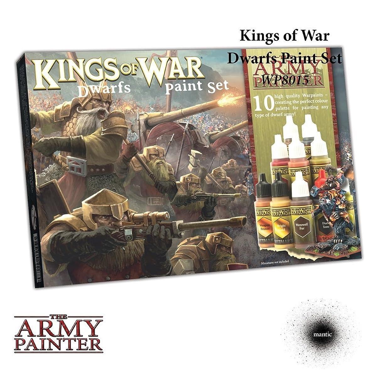 Warpaints: Kings of War Dwarfs Paint Set (10)