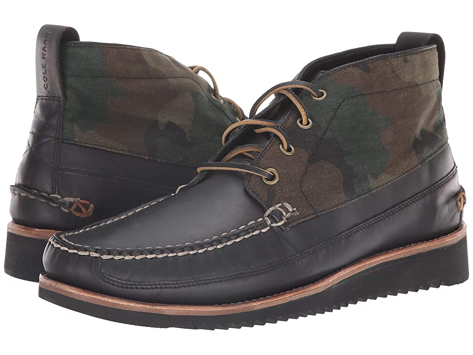 Cole Haan Pinch Rugged Chukka (Camo Canvas/After Dark) Men