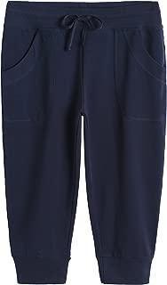 Women's Capri Joggers Jersey Sweatpants