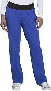 healing hands Purple Label Yoga Women's Tori 9133 5 Pocket Knit Waist Pant Paris Blue/Black -X-Small Petite