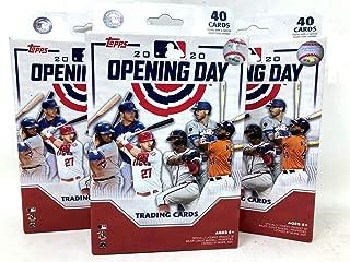 Topps 2020 Opening Day Baseball Hanger Pack Box (3 Hanger Packs)