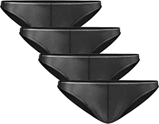 Men's 4 Pack Micro Modal Briefs Lightweight Sexy Bikinis