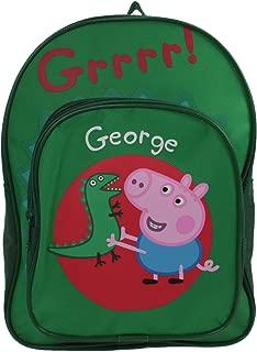 Christmas Shop Boys Peppa Pig George Arch Backpack