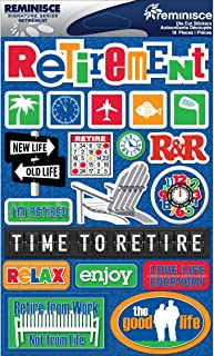 Best retirement scrapbook stickers Reviews