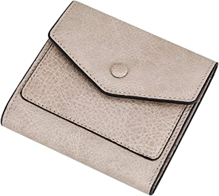 Small Leather Wallets for Women RFID Blocking Women's Credit Cards Holder Mini Compact Bifold Pocket Purse