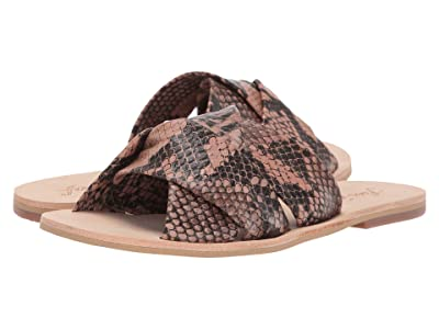 Free People Rio Vista Slide Sandal (Brown) Women