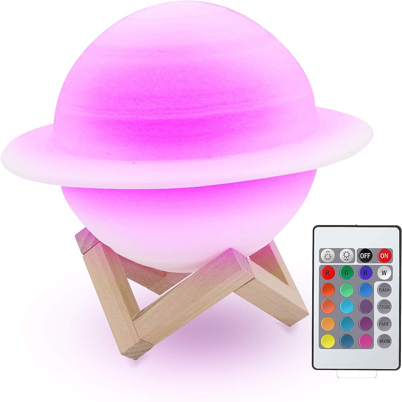 Lámpara Saturno Planeta
