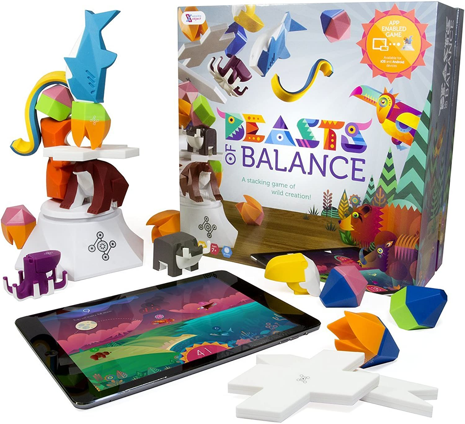 Beasts of Balance  A Digital Tabletop Hybrid Family Stacking Game For Ages 7+ (BOBCORWW1 GEN)