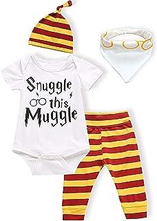 Baby Boy Girl Clothes Coccola Questo Babbano Manica Lunga 3 Pezzi Abiti Pagliaccetto Pantalone, Abito Manica Lunga