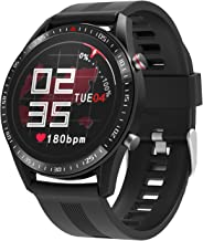"moreFit Smart Watch,Health and Fitness Watch with Heart Rate Sleep Monitor, 1.3"" Color Full Touch Screen Activity Tracker ..."
