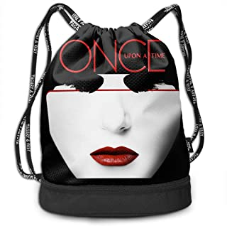 Creative Design Once Upon A Time Killian Jones Drawstring Backpack Sport Bag for Men And Women Etryrt Coulisse Sacchetto,Sacca Coulisse Zaino,Sacca Sportiva