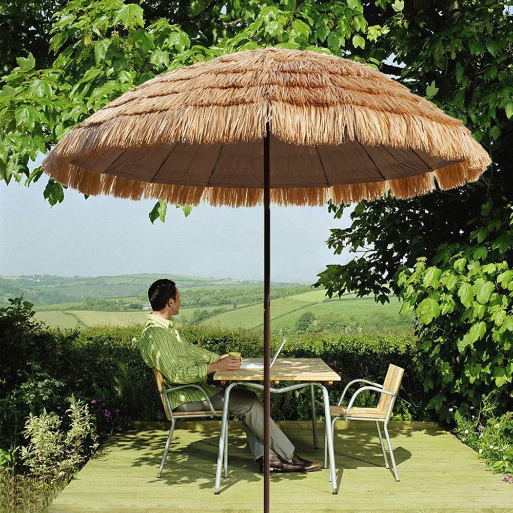 Sombrilla de jardín 丨 Sombrilla de paja de imitación 丨 Sombrilla de exterior 丨 Sombrilla de