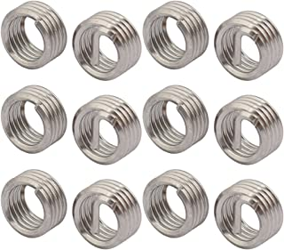 uxcell #8-32x0.492 304 Stainless Steel Helical Coil Wire Thread Insert 25pcs