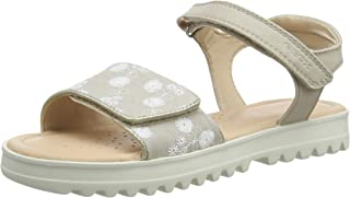 Geox Coralie Gir, Sandales Bout Ouvert Fille