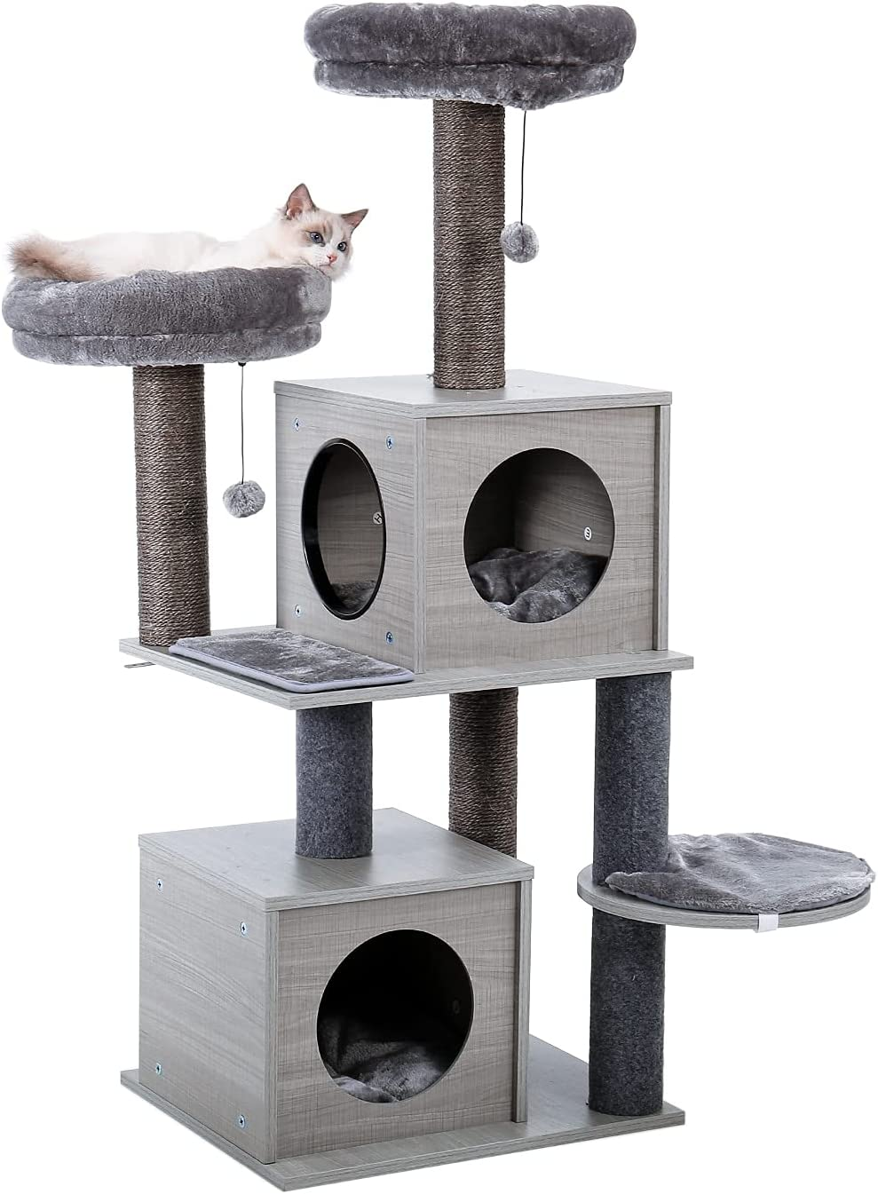 DACHENZI Cat Tree House Bombing new work Condo A surprise price is realized Playground Entertainment Perch Sta