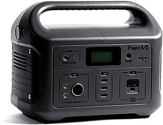 SmartTap ポータブル電源 PowerArQ チャコール (626Wh/174,000mAh/3.6V/正弦波 100V 日本仕様) 正規保証2年 008601C-JPN-FS-CH