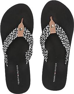 Buy Tommy Hilfiger Men's Black Flip Flops Thong Sandals 10