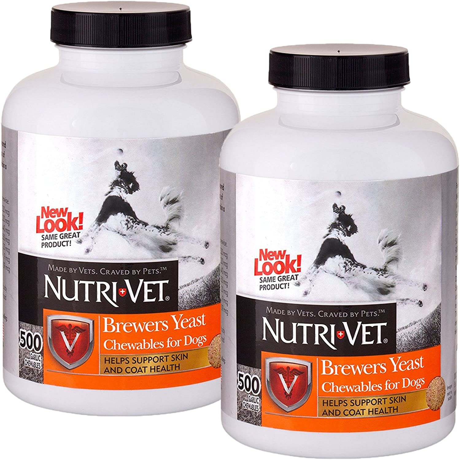 NutriVet Brewers Yeast with Garlic Chewables, 1000 Count ntmqqq2750
