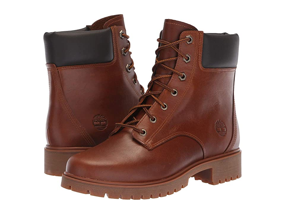 Timberland Jayne 6 Waterproof Boot (Medium Brown Full Grain) Women