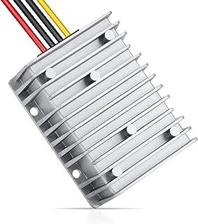 LEDMO DC/DC Converter Regulator Reducer 24V Step Down to DC 12V 40A 480W Car Power Adapter