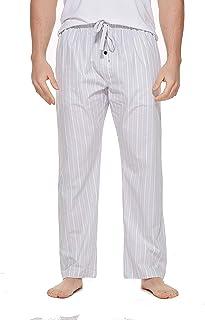 CYZ Men's 100% Cotton Poplin Pajama Lounge Sleep Pant
