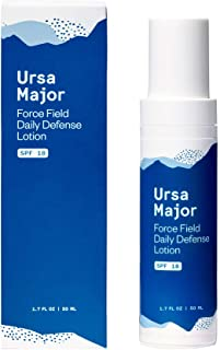 Ursa Major Natural Moisturizer with SPF 18   Daily Defense Lotion   Vegan & Cruelty-Free Sunscreen   For Men and Women   1...