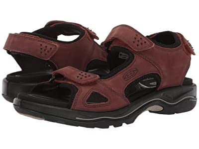 Keen Rialto II 3 Point (Dark Henna/Black) Women