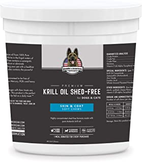 Sponsored Ad - Maddie's American Pet Products Premium Krill Oil Shed Free 60ct - Up to 240 Day Supply Skin and Coat Supple...