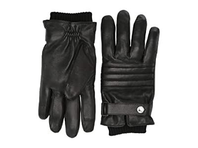 BOSS Hugo Boss Hetlon Touch Tech Gloves (Black) Extreme Cold Weather Gloves
