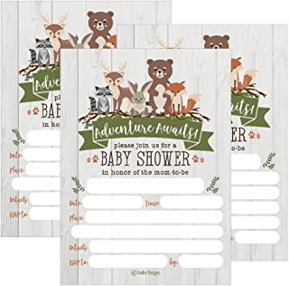 Best baby wolf baby shower invitations Reviews