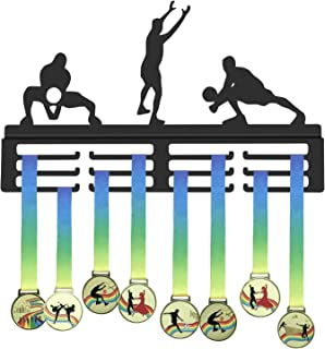 GENOVESE Medal Hanger for Volleyball,Sport Medals Display Rack,Volleyball Player Trophies Hangers,Awards Holder